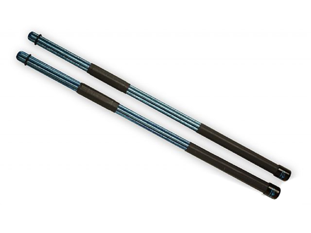Rods QPercussion QSTOCB01, QSticks, Colored Blauw, Lengte 16 1/4""