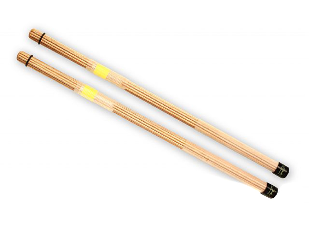 Rods QPercussion QSTONY01, QSticks, Natural Geel, Lengte 16 1/4""