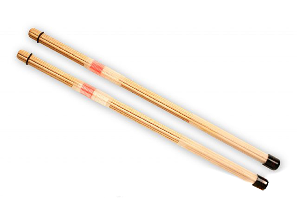 Rods QPercussion QSTONR01, QSticks, Natural Rood, Lengte 16 1/4""