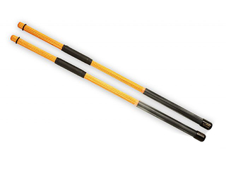 Rods QPercussion QSTOCW01, QSticks Whisper, Colored Oranje, Lengte 16 1/4""