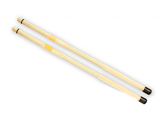 Rods QPercussion QSTONW01, QSticks Whisper, Natural Oranje, Lengte 16 1/4