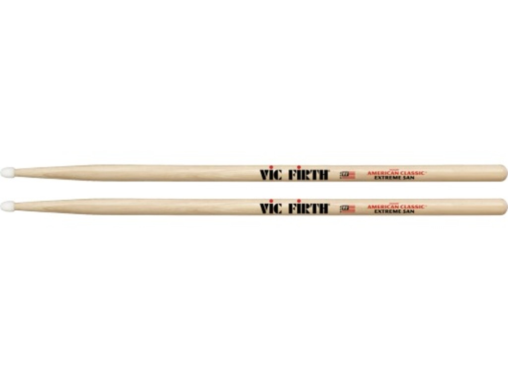"Drumstokken Vic Firth X5AN, American Classic, Hickory X5AN .565"", Lengte 16 1/2'', Tear Drop, Nylon Tip"