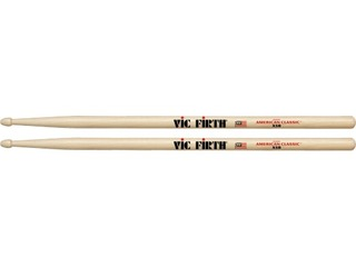 "Drumstokken Vic Firth X5B, American classic, Extreme, Hickory X5B .595"", Lengte 16 1/2'', Tear Drop, Houten Tip"