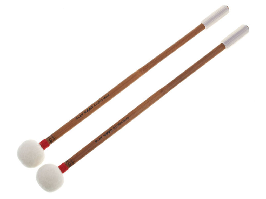 Pauken Mallets Playwood PRO-3122, Raymond Curfs Classical Serie, Nice Colourfull Roll