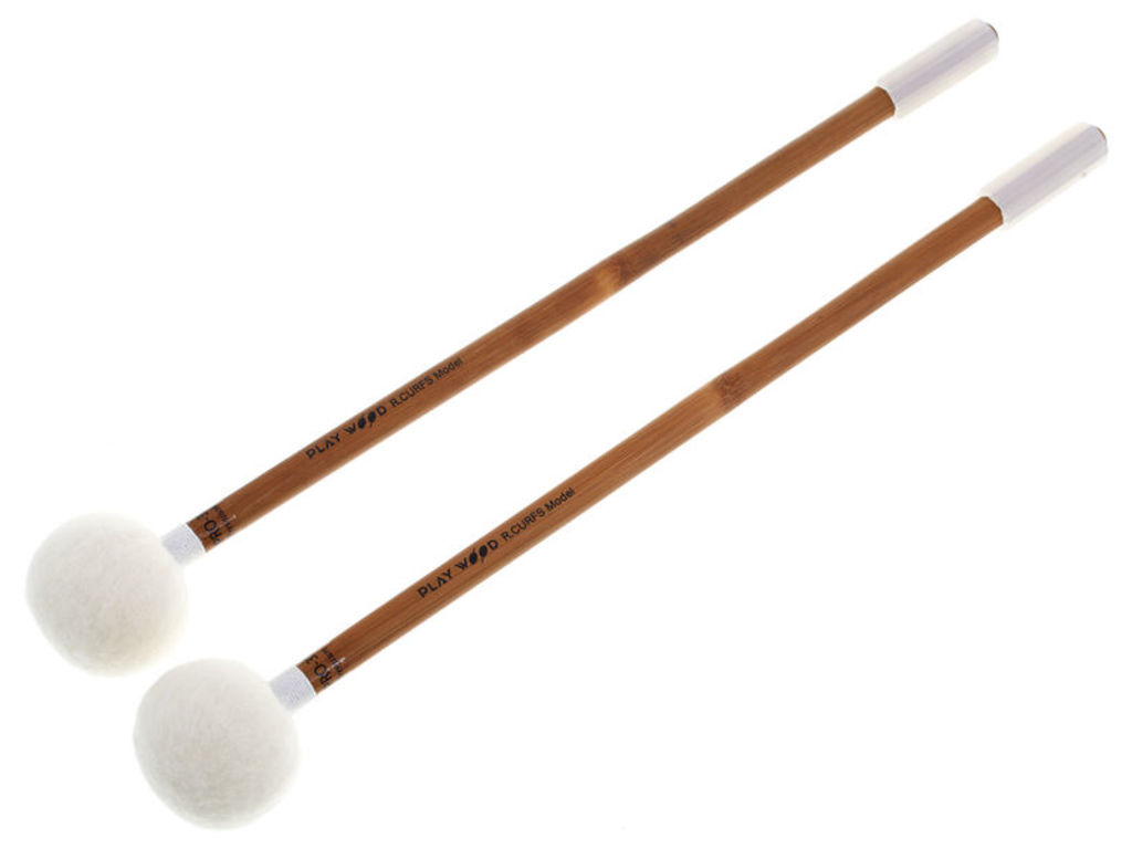 Pauken Mallets Playwood PRO-3233, Raymond Curfs Premium, Powerfull Smooth Roll
