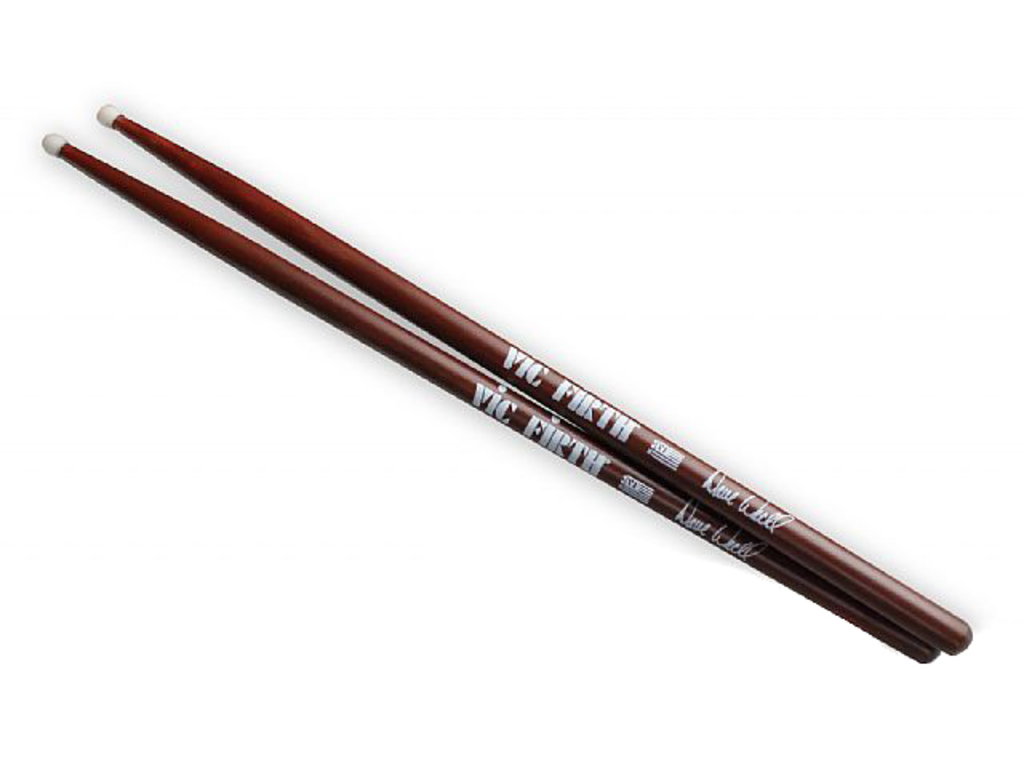 "Drumstokken Vic Firth SDWN, Signature Serie, Dave Weckl, Hickory SDWN .560"", Lengte 16"", Nylon Tip"