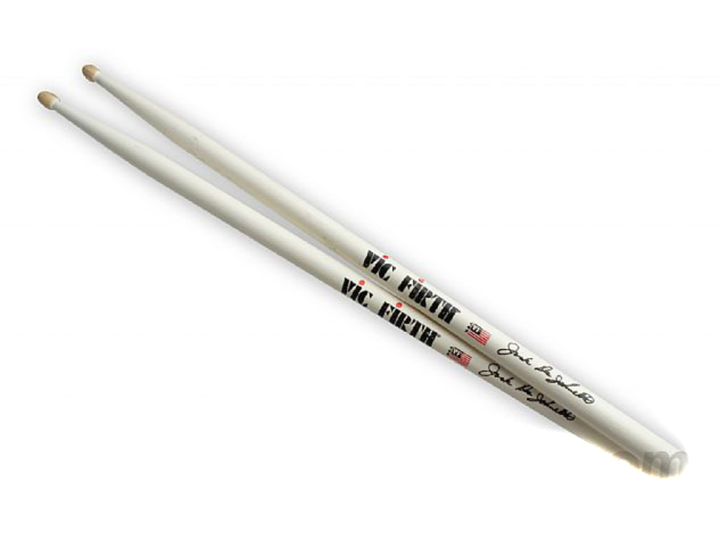 "Drumsticks Vic Firth SJD, Signature series, Jack Dejohnette, Hickory SJD .565"", length 16 5/16"", Tear Drop, wooden Tip"