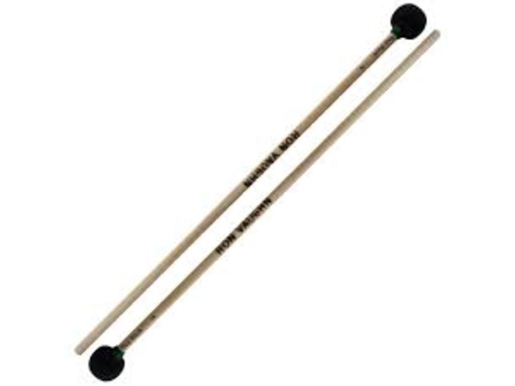 "Woodblock Mallets Ron Vaughn MBM-2B, voor medium woodblocks, Lengte 14"", Berken"