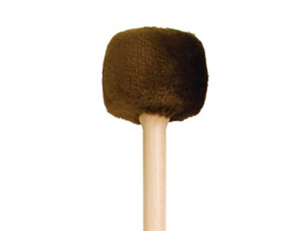 "TamTam Mallet Playwood G-RM, Gong Mallet, Diameter 86mm, rubber core, medium, for 28""-36"" gongs"