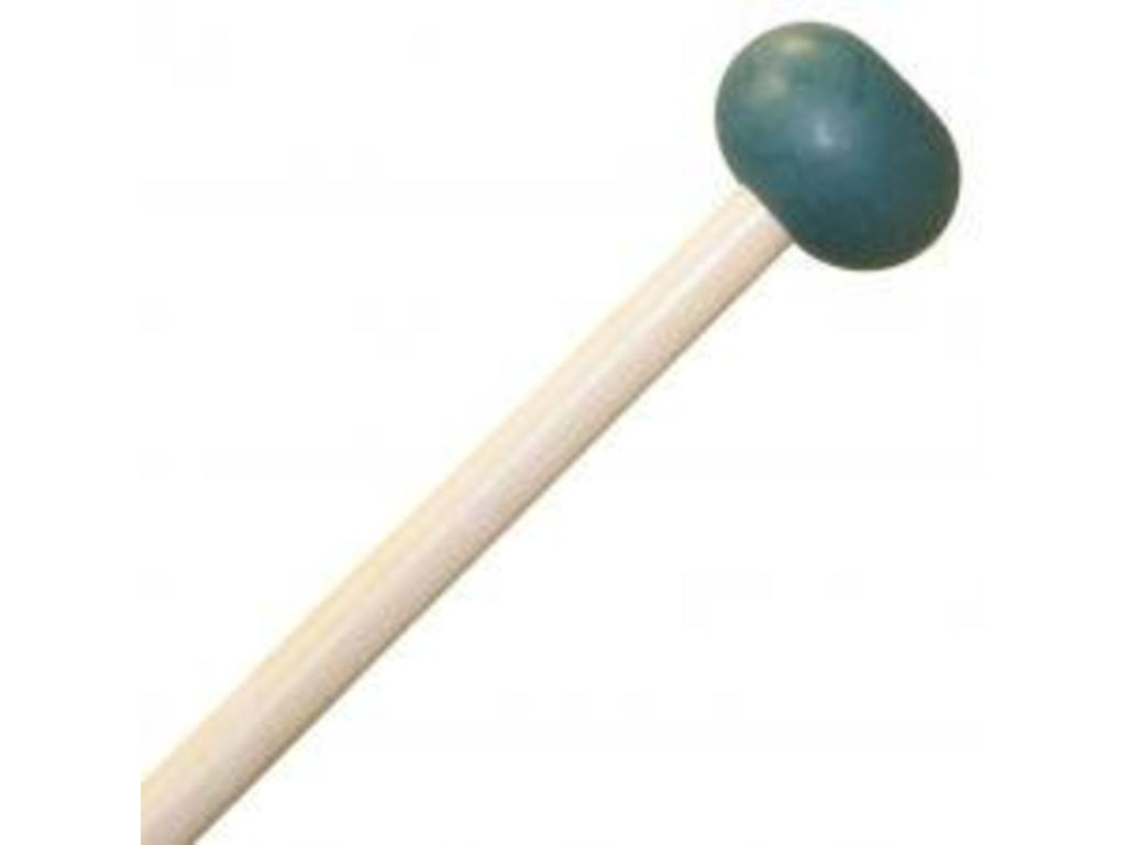 "Xylofoon / Klokkenspel Mallets Mike Balter 5B, Unwound Serie, Diameter 1"", Oval, Donkergroen Rubber, Medium hard, Berken"
