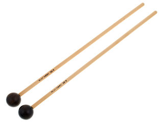 Xylofoon / Klokkenspel Mallets Playwood XB-9, Diameter 26x350mm, Bal, Ebony, Heel Hard, Rattan