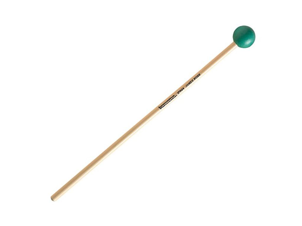 Xylofoon / Klokkenspel Mallet Innovative Percussion IP 904, James Ross Serie, Hard, Groen, Rattan