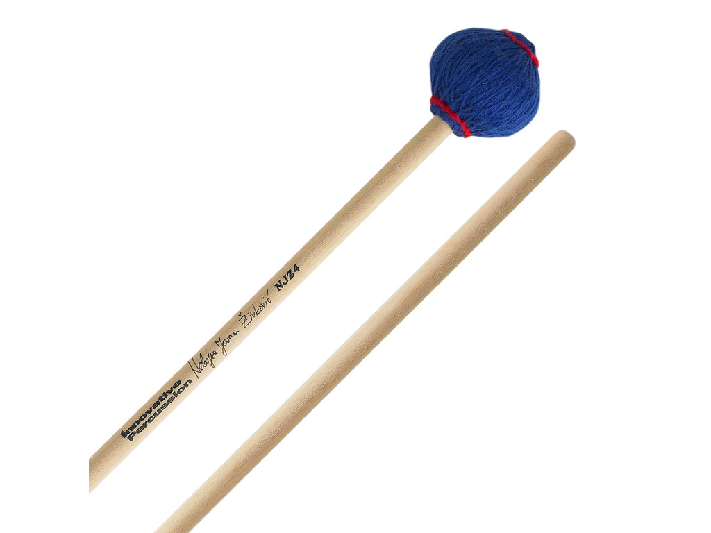 Marimba Mallet Innovative Percussion NJZ4, Nebojsa Zivkovic Serie, General, Blauw, Ceder