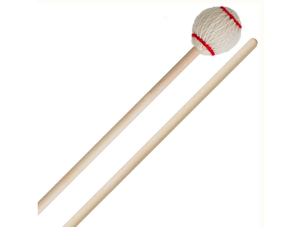 Marimba Mallet Innovative Percussion NJZ-MTR, Nebojsa Zivkovic Serie, Multitone, Wit, Rattan