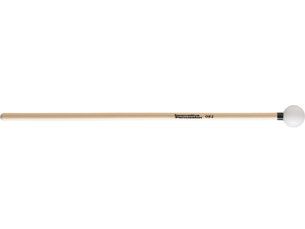 "Xylofoon / klokkenspel Mallet Innovative Percussion OS2, Orchestral Serie, Diameter 1"", Full, Hard, Zwart / Wit, Rattan"