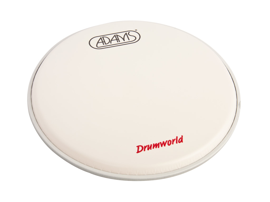 "Tom Vel Adams Drumhead, 1-ply 10"", Coated"