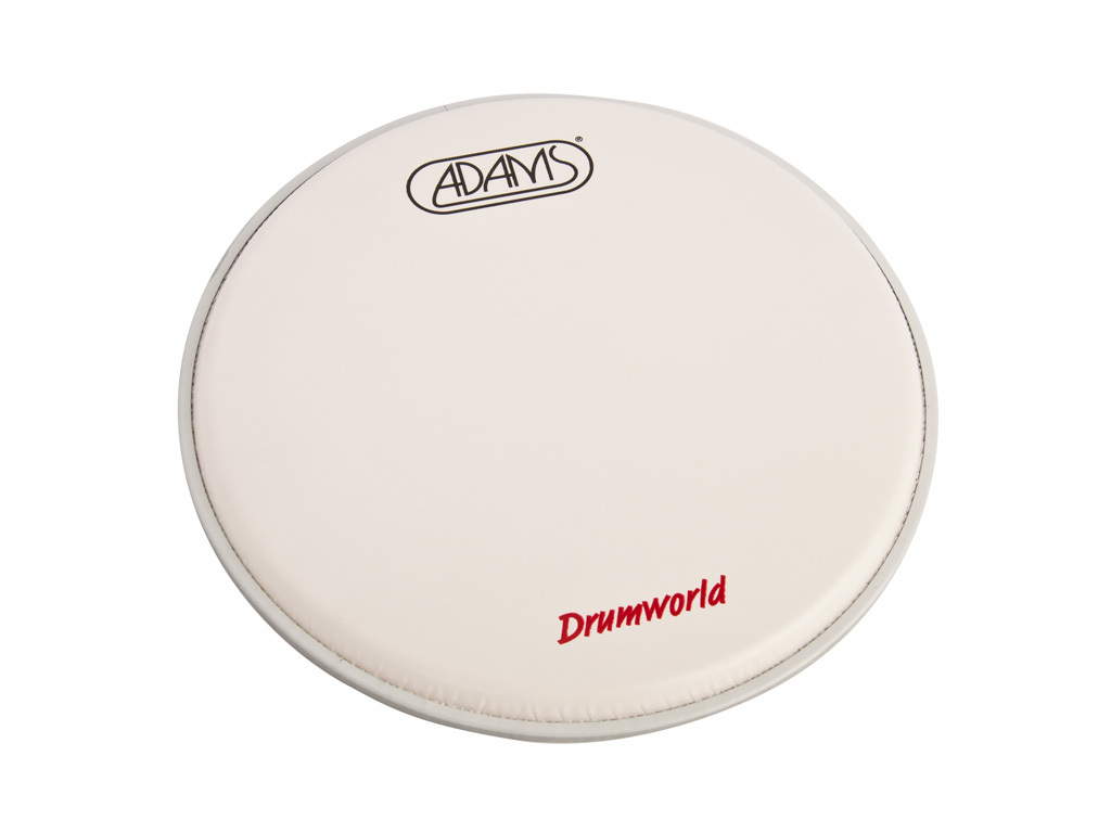 "Tom Vel Adams Drumhead, 2-ply 10"", Coated"