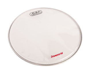 Snaredrum Vel Adams Drumhead clear snare side, 1-ply 14""