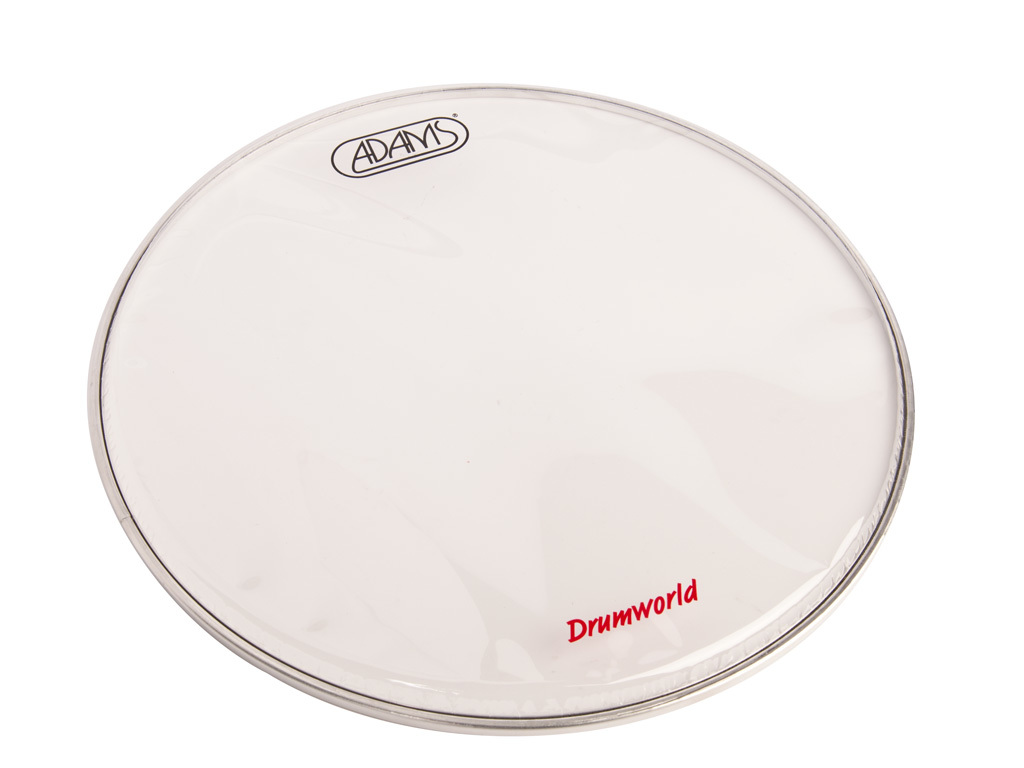 "Tom / Snaredrum Vel Adams Drumhead, 2-ply 14"", Coated"