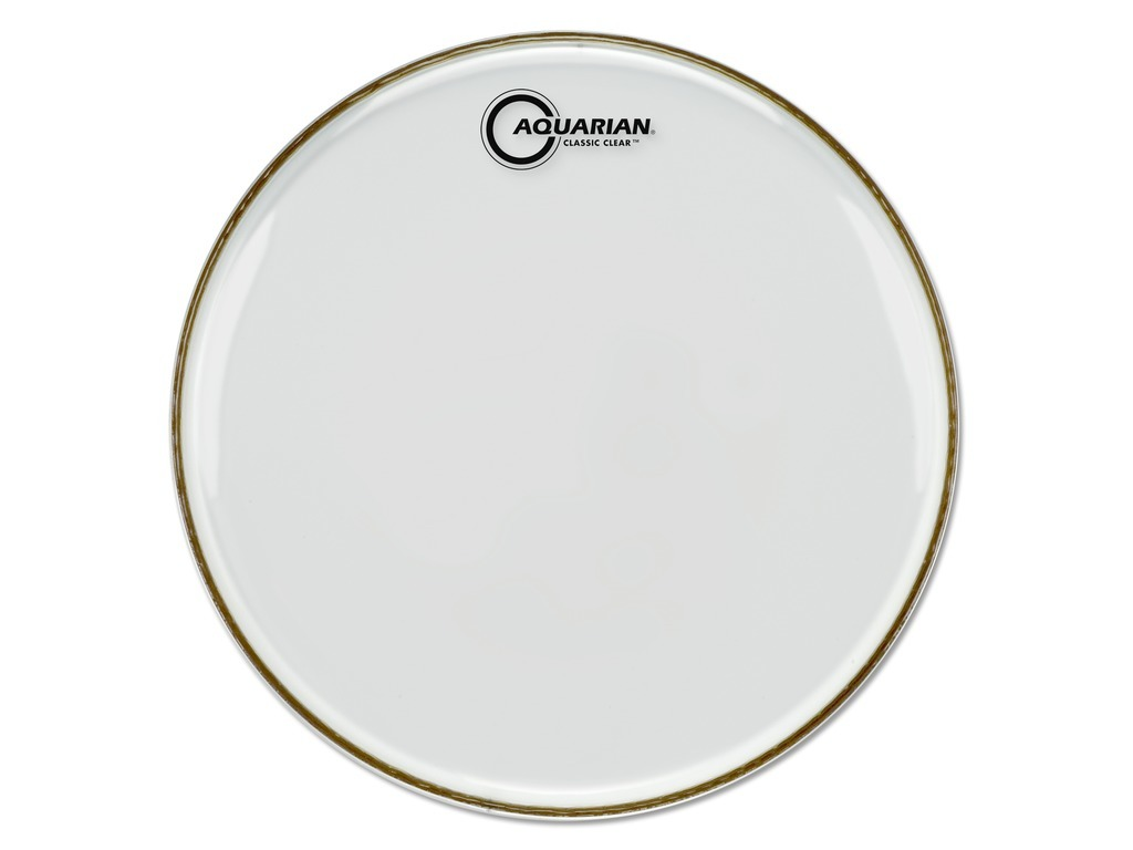 "Snaredrum Vel Aquarian CCSN10 Snare side Classic Clear, 1-ply 10"", clear"