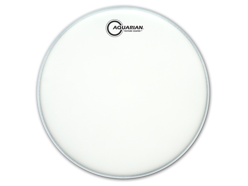 "Bassdrum Vel Aquarian TC18, Texture Coated, 1-ply 18"", wit"