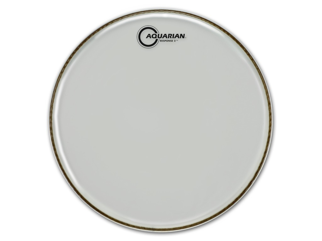 "Tom Vel Aquarian RSP214, Response 2 Serie, 2-ply 14"", clear"