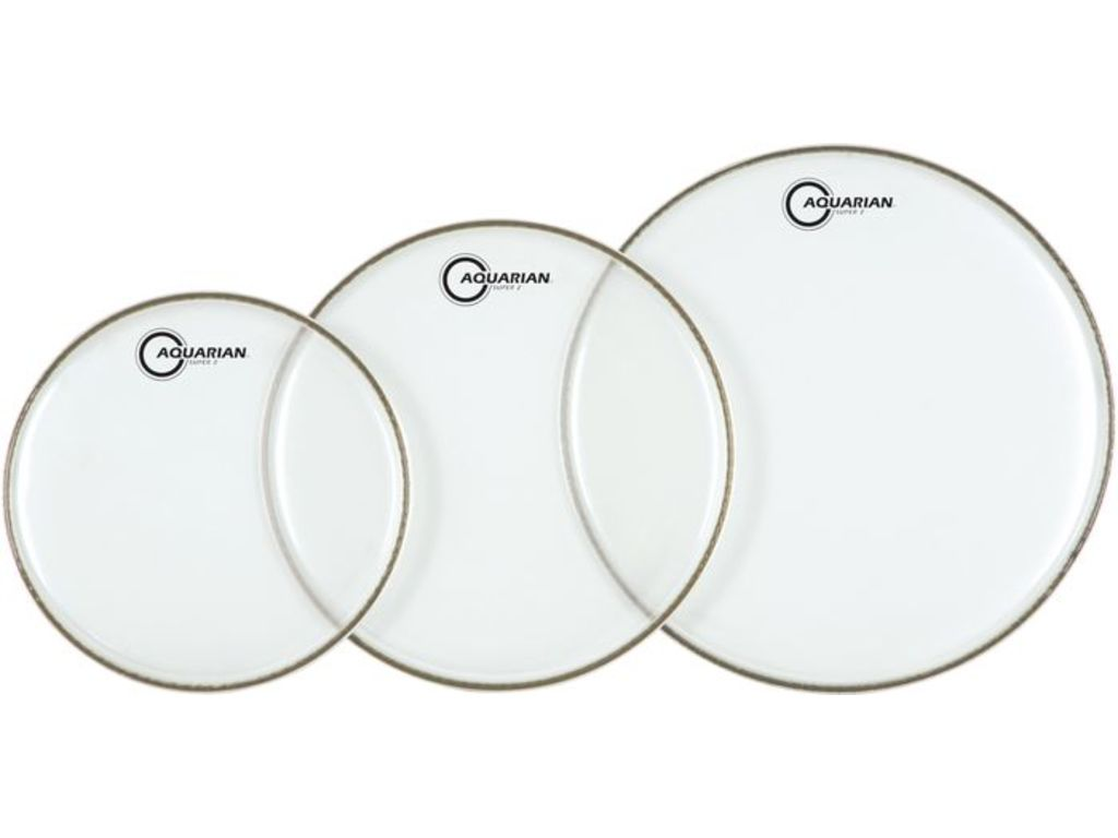 "Tom Vel Aquarian S210, Super 2, 2 ply 10"", clear"