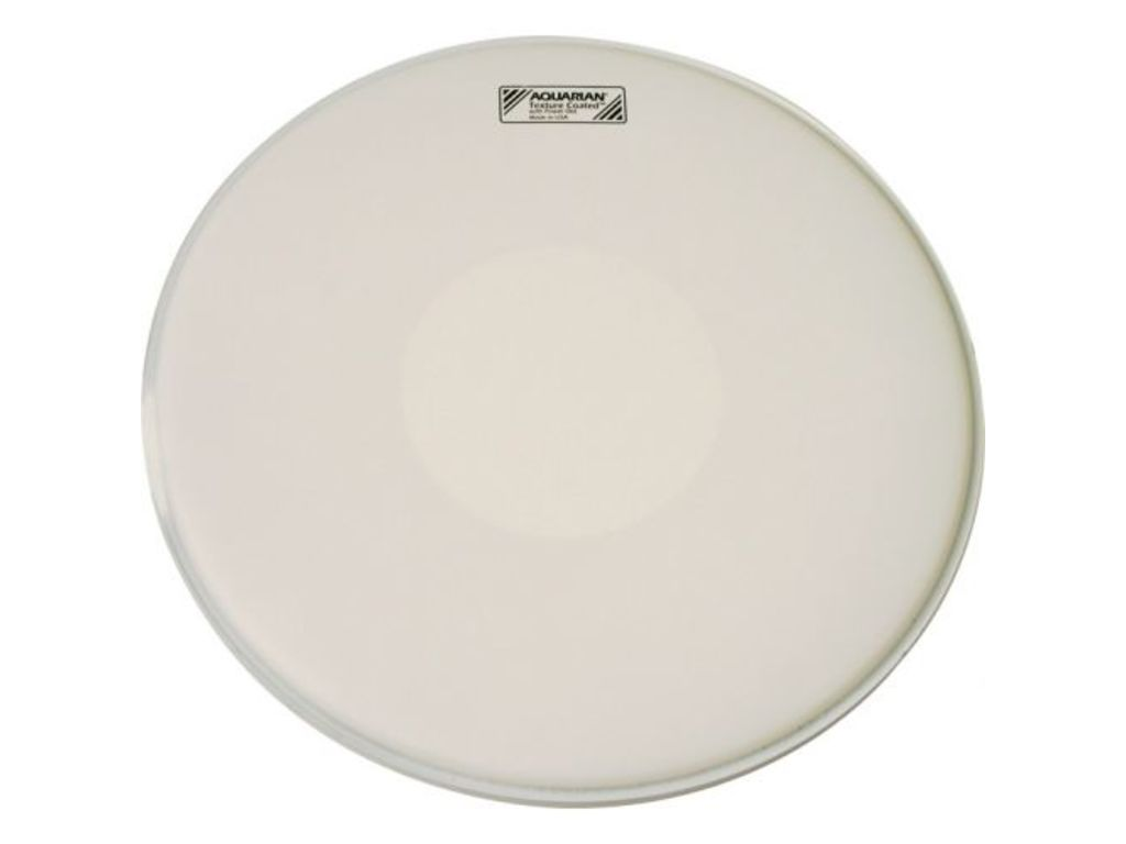 Snaredrum Vel Aquarian TCPD13, Texture Coated met Power Dot, 1-ply 13""