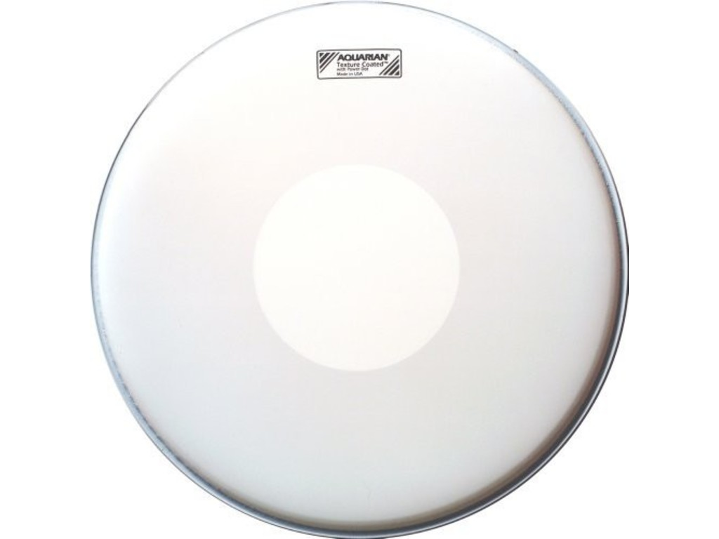 Snaredrum Vel Aquarian TCPD14, Texture Coated met Power Dot, 1-ply 14""