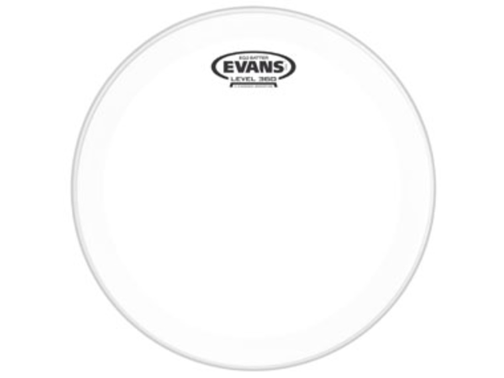 "Bassdrum Vel Evans BD18GB2, EQ 2, 2-ply 18"", clear"