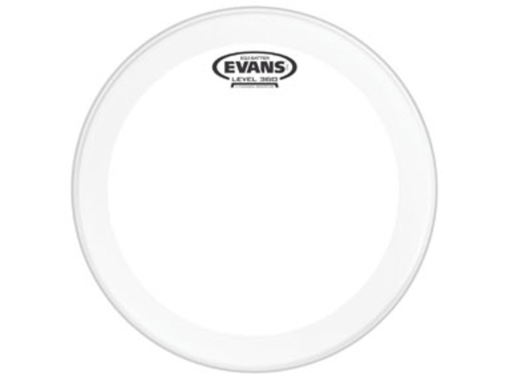 "Bassdrum Vel Evans BD18GB3, EQ 3, 2-ply 18"", clear"