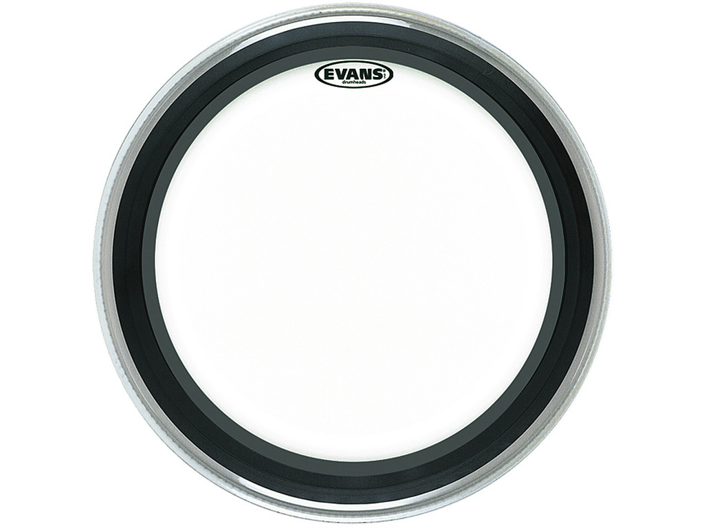 "Bassdrum Vel Evans BD20EMAD2, 20"", Emad 2, 2-ply, clear"