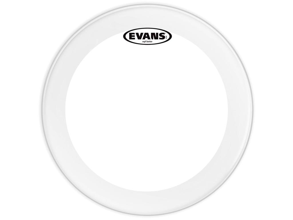 "Bassdrum Vel Evans BD20GB4, EQ 4, 1-ply 20"", clear"