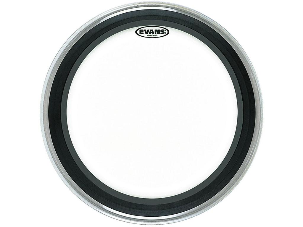 "Bassdrum Vel Evans BD22EMAD, Emad, 1-ply 22"", clear"