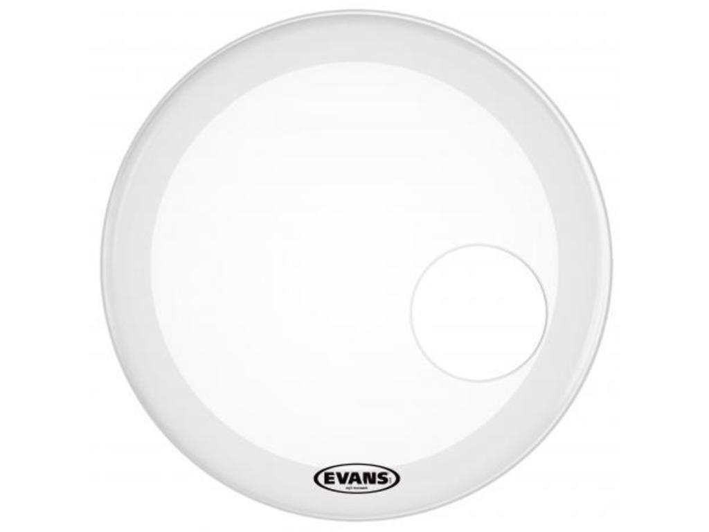 "Bassdrum Vel Evans BD22RGCW, Genera EQ3, Resonant, 1-ply 22"", coated"