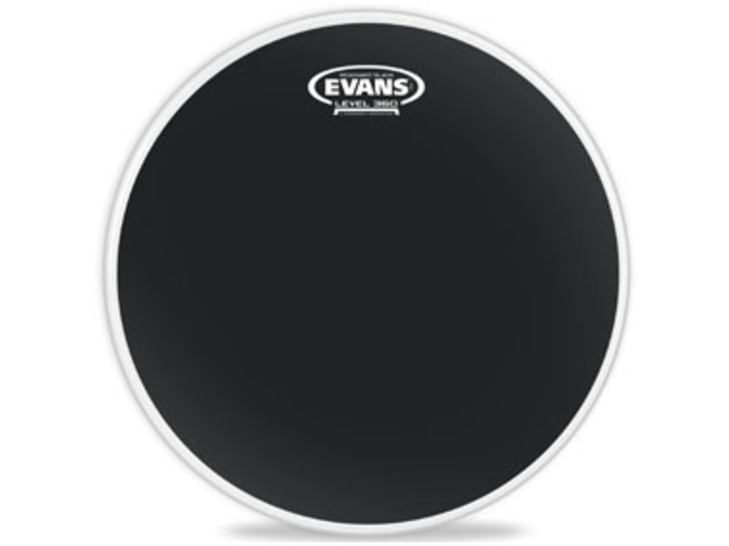 "Tom Vel Evans TT18RBG, Resonant Black Serie, 1-ply 18"", zwart"