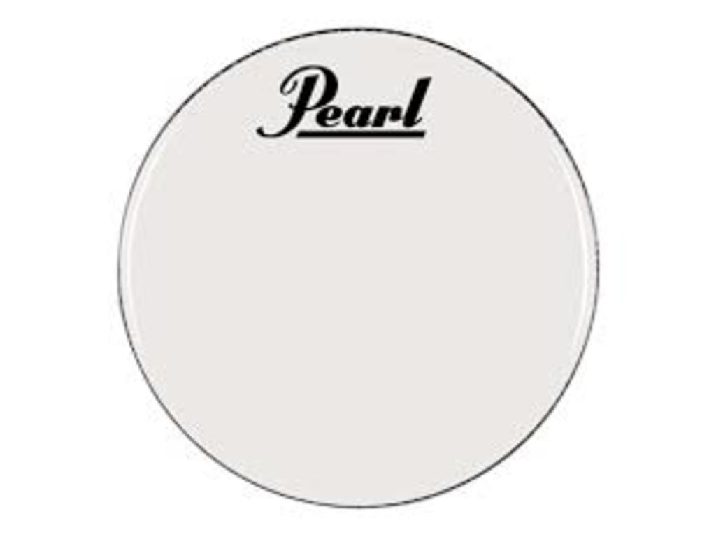 "Bassdrum Vel Pearl PTH22CEQPL, wit, 1-ply 22"" coated"