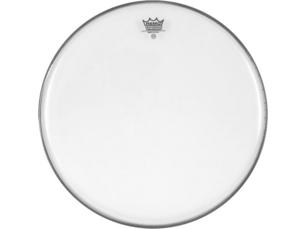 Tom / Snaredrum Vel Remo BA-0315-00, Ambassador Clear, 1-ply 15""