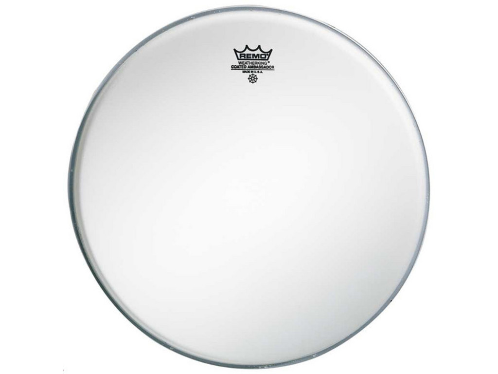 Tom / Snare Drum Head Remo BA-0112-00, Ambassador Coated, 1-ply 12""