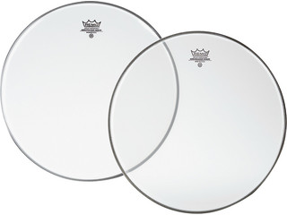 Snaredrum Vel Remo SA-0115-00, Ambassador Snareside, Clear, 1-ply 15""