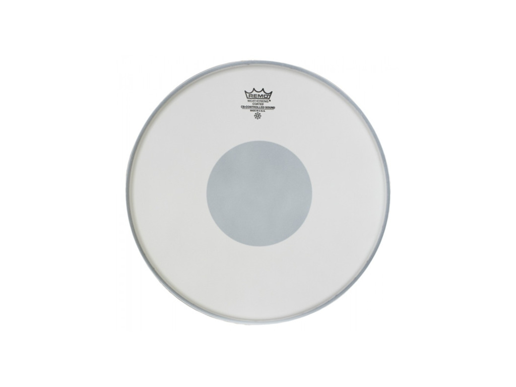 "Tom / Snaredrum Vel Remo CS-0112-10, Controlled Sound, Coated, 1-ply 12"", dot op onderkant"