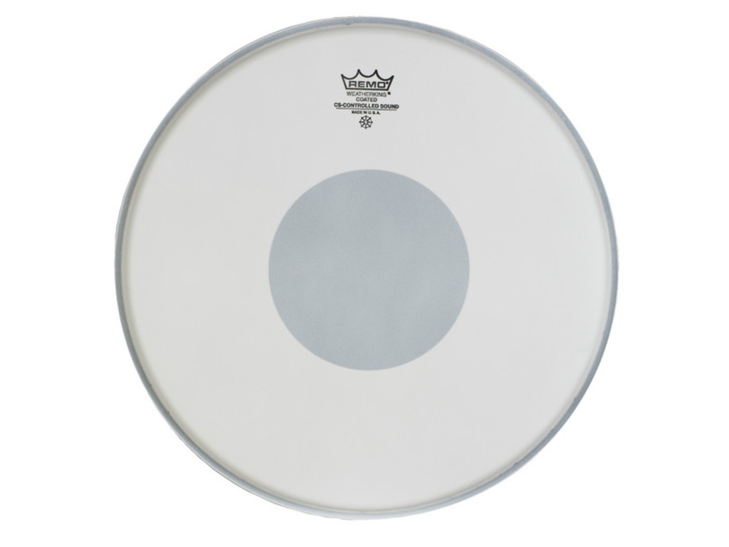 "Tom / Snaredrum Vel Remo CS-0110-10, Controlled Sound, Coated, 1-ply 10"", dot op onderkant"