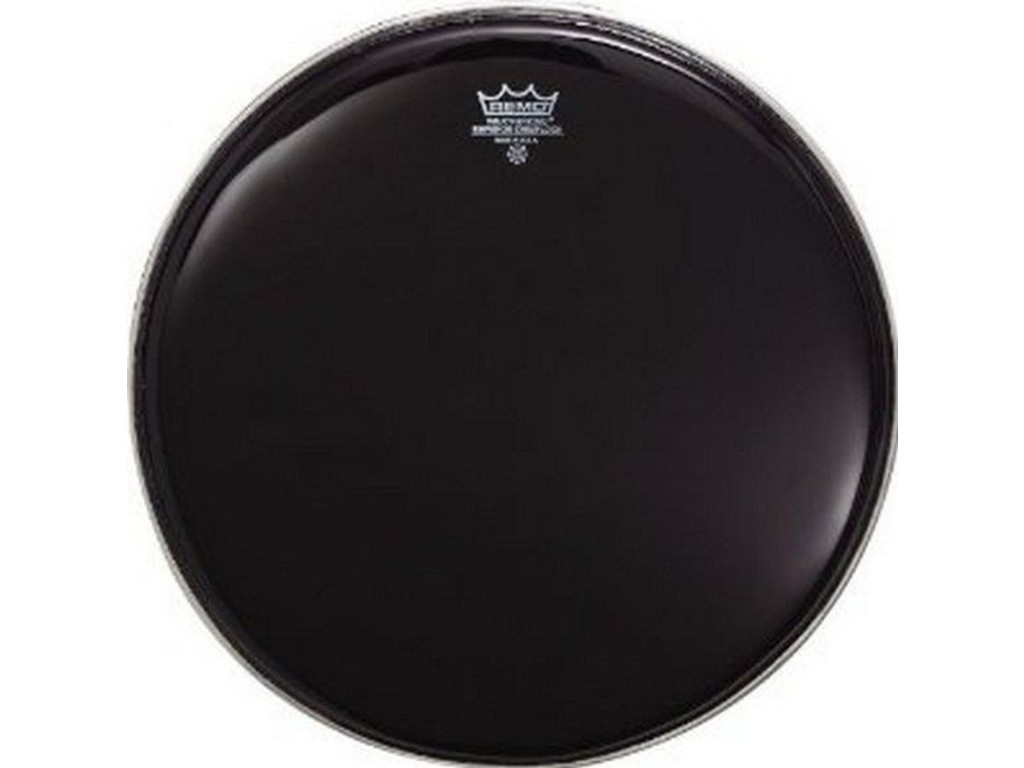 Tom / Snaredrum Vel Remo BE-0013-ES, Emperor Ebony, 2-ply 13""