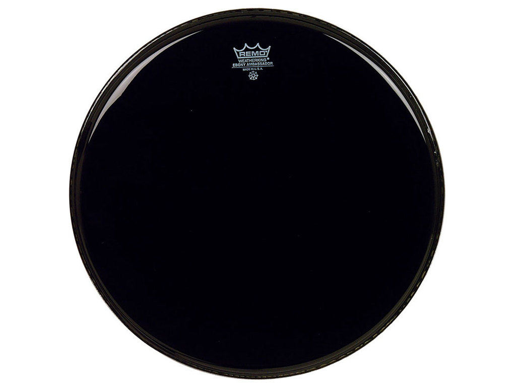 Tom Vel Remo BE-0018-ES Emperor Ebony, 2-ply 18""