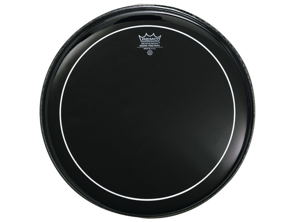 Tom Peau Remo ES-0616-PS, Pinstripe Ebony, 2-plis 16""