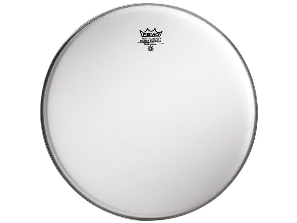 Tom / Snaredrum Vel Remo BE-0114-22, Emperor Coated, Dot Boven, 2-ply 14""