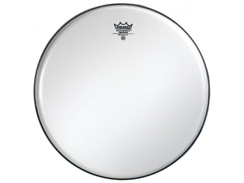 Bassdrum Vel Remo BB-1218-00, Emperor Smooth White, 2-ply 18""