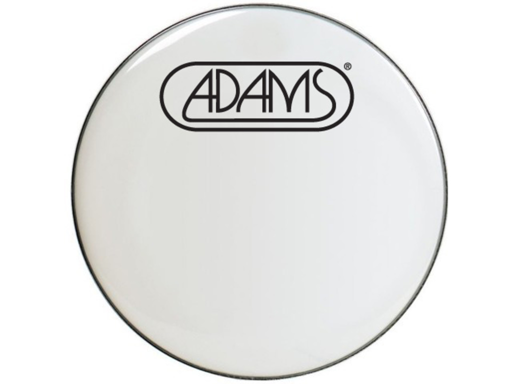 Bassdrum Vel Remo BE-1222-00, Emperor Smooth White, 2-ply 22""