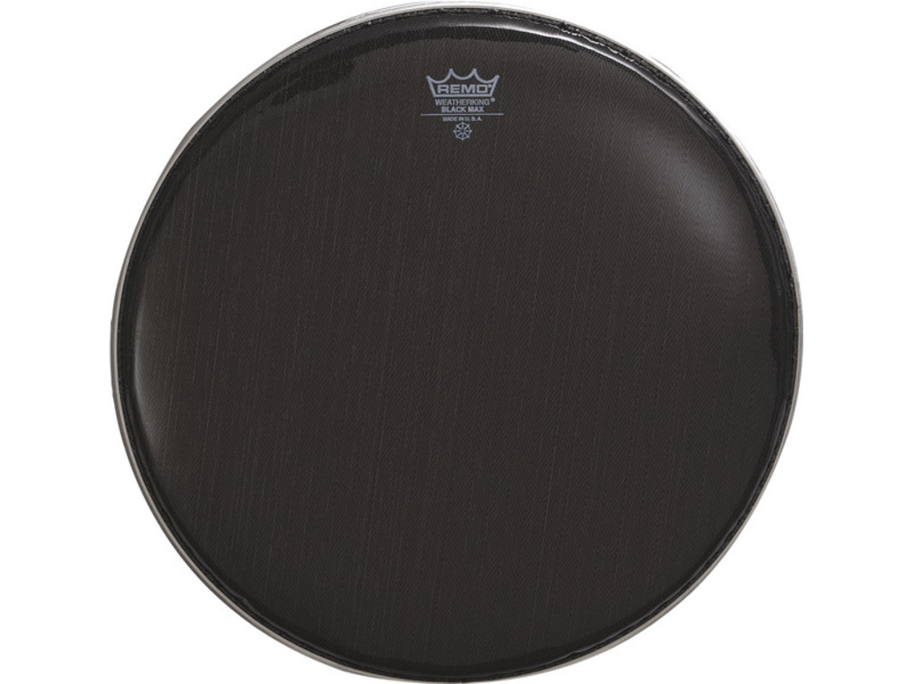 "Snaredrum Vel Remo KS-0614-00, Blackmax 14"", Marching"
