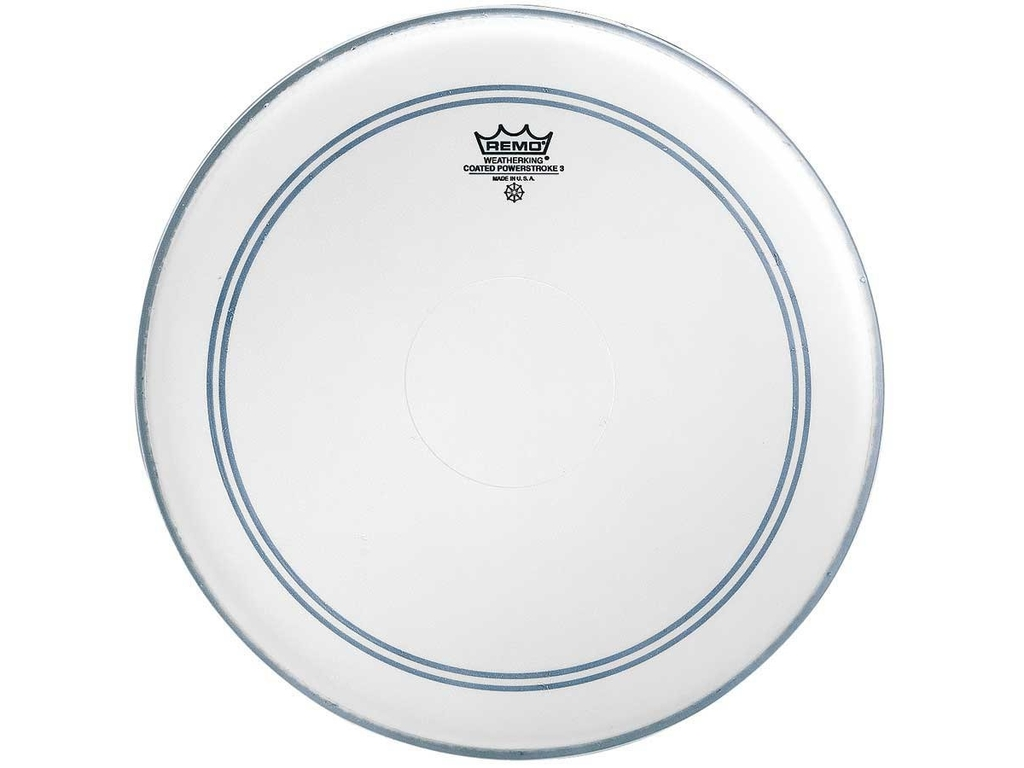 Tom / Snaredrum Vel Remo P3-0112-BP, Powerstroke 3 Coated, 1-ply 12""
